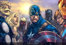 Marvel Art / by Eric Gottfried