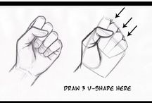 Drawing-Hands and arms