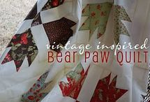 Quilt Bear Paws, Mountains, Etc