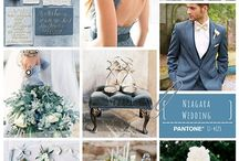 Pantone 2017: Niagara Wedding