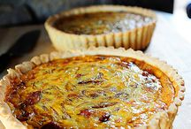 food: savory pies and quiches