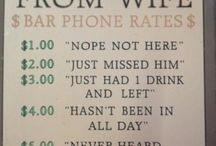Silly Beer Signs