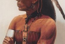 Native American faces / People