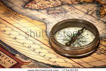 mapas brujulas