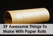 Paper Rolls & Egg cartons