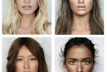 Make-up inspirations / * Make-up * Looks * Beauty * Hair Design *