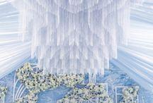 Свадьба голубом цвете