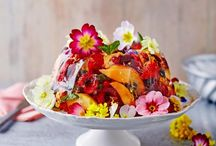 Edible Flowers / Beautiful ideas for eating
