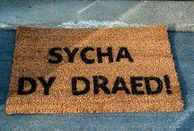 Dipyn o betha Cymraeg.