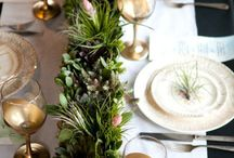 The Holidays / Table settings & decorating