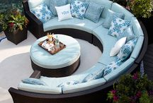 Groovy Gardens & Outside Furniture / by Karen Crabtree