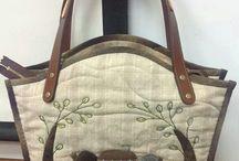 сумки из текстиля