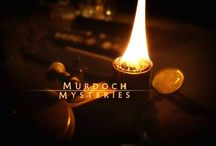 Murdoch Mysteries / one of the only TV shows I watch
