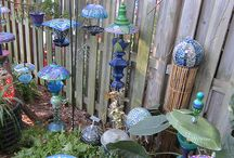 Cool and quirky garden