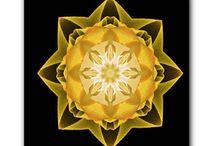 Canvas print fractals