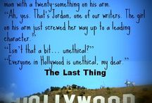 The Last Thing / Teasers, memes, and all stuff about my new novel The Last Thing