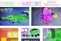 printable kiddo crafts