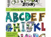 lettres,lettering lessons