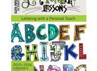 lettres,lettering lessons