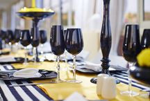 Black Events Table / Beautiful table for any event!