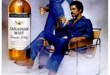 Retro Ads | Alcohol / Vintage alcohol adverts. Click main image to see whole ad campaign on Retro Musings.