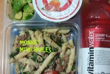 Monkey Munchables / My own lunch creations!