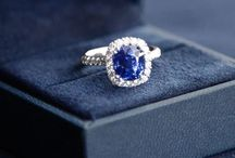 September Birthstone - Sapphire Jewelry / Sapphire is the magical stone for September. It is one of the most desired stones and is unlike any other birthstone color. During the Middle Ages, the Saphire was believed to protect those close to you from harm while also representing loyalty and trust.