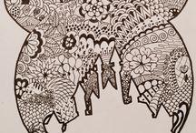 My zentangles