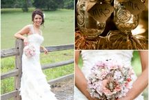 Southern country style weddings