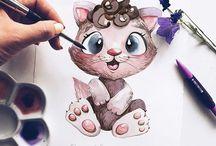 Животные иллюстрации