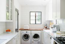 Dirty clothes need pretty counters!