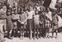 collegio Imperia / anni sessanta a Imperia San Maurizio, c'era un collegio patrocinato dalla curia di Biella. Questa è una foto di mia sorella con alcuni collegiali