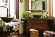Wall Colors with Wood Trim / by Vanessa Rider