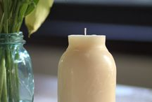 velas frascos