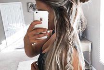 tubos de cabello y estilos