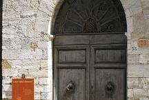 Toscana: puertas