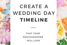 Wedding Day Photo Timelines