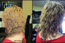 Perms / #Perm to #bodywave for your hair! Before and afters of our chemical/texturizing services!