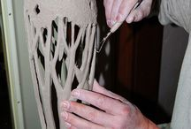 ceramic carving