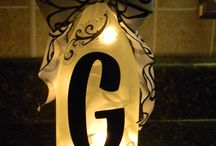 Monogram Crafts / by Heather DiPaolo
