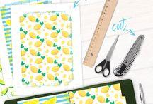 Printables | Planners / Planner printables, templates, planner girl, planner binder, planner organizer, dividers, accessories, downloadable, etsy, planner girl, planner obsessed, planning, journaling, bullet journal, bujo