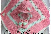 baby knitted and crochet sets