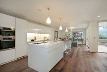 kitchen with dining bench combo