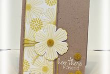 Mixed Bunch-Stampin Up / Cards featuring Mixed Bunch stamp set and punch / by Sue Richardson