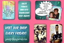 Announcements / Check this board for the latest news from The Jewels of Kingwood - Sales, Discounts, FREEBIE Friday Giveaways, and Blog Specials. Happy Savings Peeps!