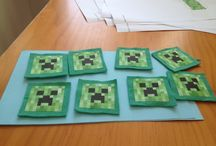 Minecraft decorations / Minecraft crafts, decorations.
