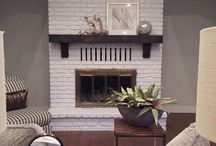 fireplace / by Katie Spencer
