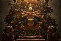 Throne Room- Steam Punk