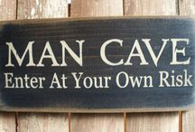 Man Cave / This one is all for the guys, ladies. Every guy needs that one room to get away from it all. Here are a few ideas that may help you get to that special place.