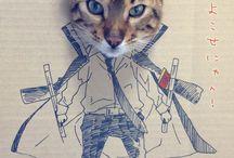 Комиксы с кошками / Прикольные комиксы с вавшими любимцами. На доске вы увидите кошек, котят, котов и др.